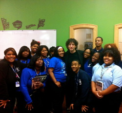 Wendell Phillips Academy + Neil Gaiman @YOUmedia Chicago