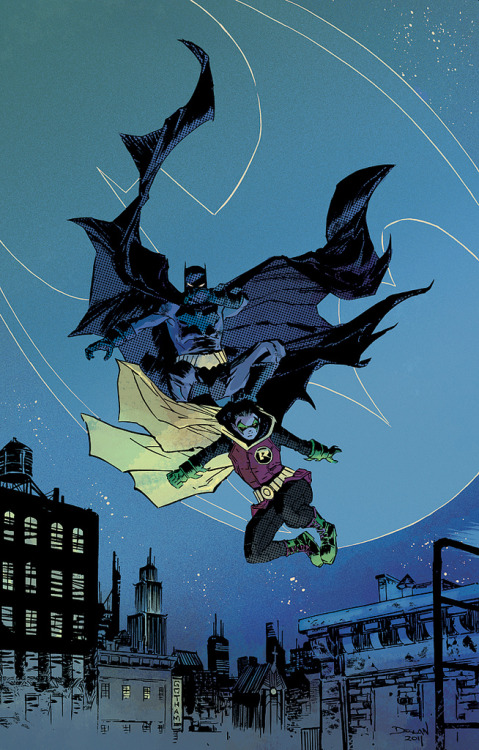 Batman and Robin by Declan Shalvey and Jordie Bellaire