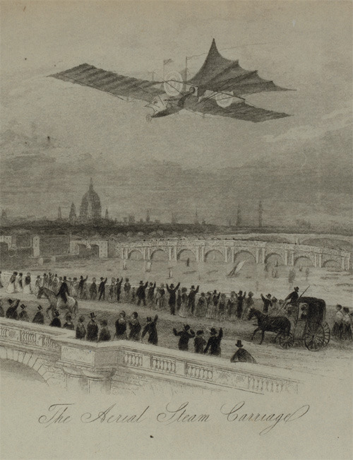 xplanes:  the Aerial Transit Company, 1843 (library of congress)
