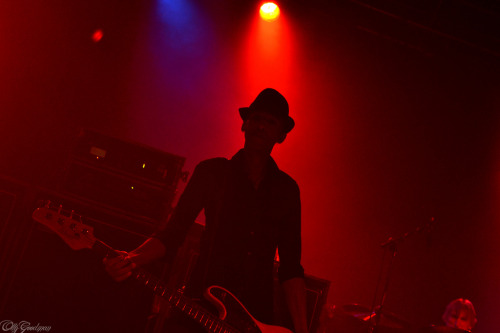 dUg Pinnick of King's X on the Live Love tour at The Wulfrun on April 10, 2011, Wolverhampton, West Midlands, England. Photo ©2011, Oliver Goodman