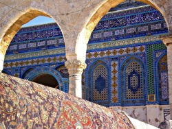 mythsofimmortality:  Detail of the Al-Aqsa Mosque in the Old City of Jerusalem, Israel