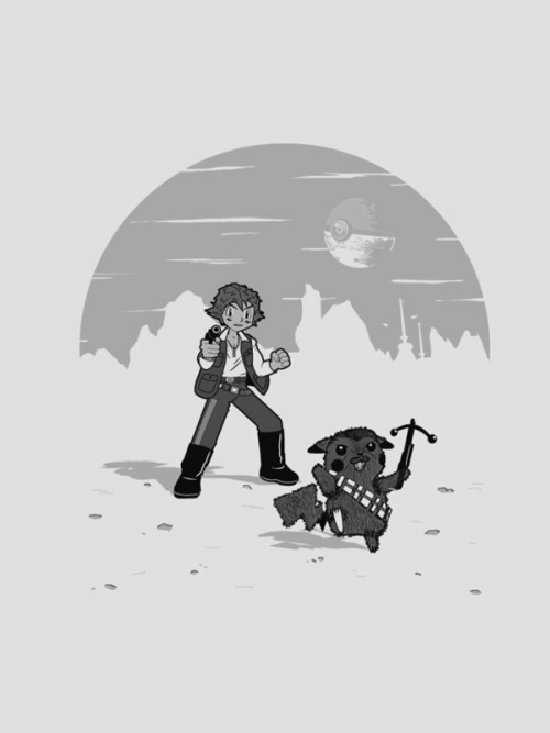 """Star Wars vs. Pokémon"" by Unknown Thanks to Jake"