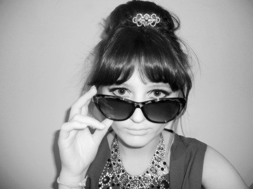 when bored, i dress up as audrey hepburn.