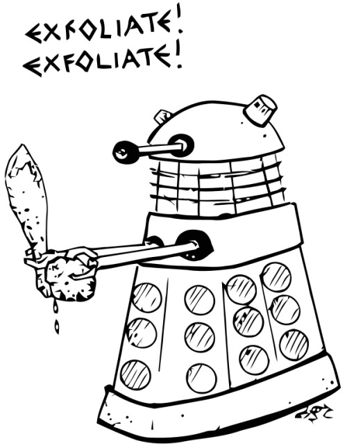 Dalek Thanks to Jake