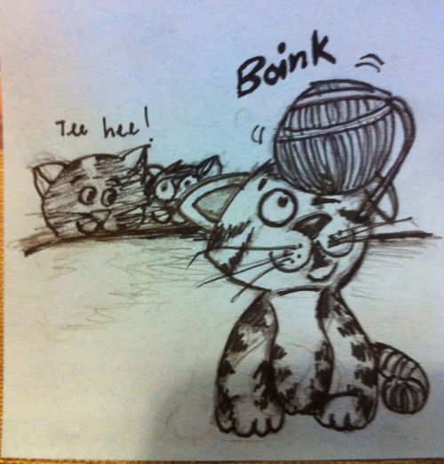 Boink!!  #sketch #cartoon