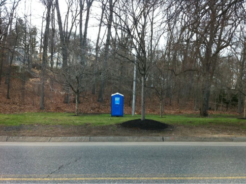 Spotted the TARDIS in Boston.