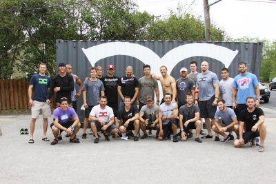 Post Crossfit Games Open Wod 11.4 Austin, TX The Fellas #badboysforlife
