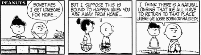 3eanuts: August 5, 1960 — see The Complete Peanuts 1959-1962