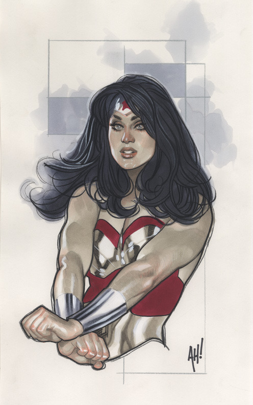 Art by Adam Hughes, of course!