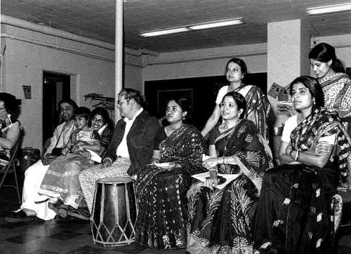 Bengali New Year Festival, 1980. Messiah Lutheran Church, Minneapolis. Photographed by Elizabeth M. Hall.