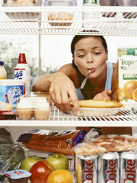 "imperfectxatxbest:  How to Conquer Your Cravings All this can be enough to drive a girl straight to the fridge. But stop! The smart strategies below can help you learn to manage your cravings — and even lose weight in spite of them. To Curb Cravings… Avoid your triggers. Spend a day taking note of where you are and what you're doing when you experience cravings; then try to change one trigger at a time. ""Take a different route to work if it's impossible to drive by the doughnut shop without stopping,"" suggests Kathy McManus, RD, a FITNESS advisory board member and director of the department of nutrition at Brigham and Women's Hospital in Boston. Take control. Develop strategies for the triggers you can't avoid. For example, if someone brings cupcakes to a meeting, resolve that you'll split one with a colleague or take just a couple of bites. ""Remember, you have the power to make healthy choices,"" Gearhardt says. Stick to a schedule. Aim to eat only at set meal and snack times — about every four hours — to help prevent mindless grazing. Get some satisfaction. If you bring a salad for lunch every day, it's no wonder you're likely to ditch it for pizza. Include indulgences a few times a week, but keep portions reasonable. ""Packing a few cookies to satisfy your need for something sweet is a better strategy than depriving yourself until you rebel and eat a huge sundae,"" says Leslie Bonci, RD, a FITNESS advisory board member and director of sports nutrition at the University of Pittsburgh Schools of the Health Sciences. Cut back on coffee. ""Too much caffeine can lead to a sugar craving, because you'll need a pick-me-up a few hours later,"" Koff says. Drink no more than two cups of java a day and pair them with protein, like almonds, to keep your energy level steady. Give your meal a happy ending. Come up with an ""enough"" signal that lets you know when a meal is over. Nutrition and psychiatry pro fessor Roberts, for example, likes to finish dinner with a cup of decaf tea: ""I enjoy it, and then I know eating is done for the day,"" she says. When a Craving Hits… Wait 10 minutes. ""If you still want the food, take a little and then wait another 10 minutes,"" McManus advises. Ask yourself if it's really going to satisfy you or if you'd rather have, say, a homemade brownie later. ""Make sure you're going to get maximum enjoyment from it,"" she says. Eat something smarter. When junk food catches your eye, figure out a satisfying nutrient-rich option you can have instead. Nonfat Greek yogurt with some roasted peanuts and a drizzle of honey is a healthy alternative to a Drumstick cone from the ice cream truck. Have some good with the bad. If you want chips but you're watching your weight, portion out a handful of them with a healthy salsa and some vegetables, Roberts says. ""You'll end up eating fewer chips but still feel full."" After You Overindulge… Don't beat yourself up. ""Too often we think, I'm a terrible person for eating that,"" Bonci notes. ""Or we say, Oh well, I already had the chips; I might as well eat the ice cream, too."" Associating food with guilt or negative emotions can cause a snowball effect. ""Tell yourself, I enjoyed my treat, and now I'm done,"" Bonci says. Limit the damage. If you guzzled sugary drinks all day, prevent it from happening in the future by weaning yourself off the sweet stuff. Roberts suggests mixing 90 percent juice or soda with 10 percent water or seltzer for a few days. Then go to an 80:20 ratio and so on, until you hit 10 percent juice, 90 percent water. ""Transition gradually and you'll barely notice the change,"" she says. Stop the second meal effect. The day after a big splurge, eat a half cup of high-fiber cereal (eight to 10 grams a serving) with your usual breakfast, then again as an afternoon snack and after dinner. ""This will help counter your increased hunger by putting a layer of slow-to-digest fiber in your stomach"" Roberts says. It's easier to resist cravings when you feel full."