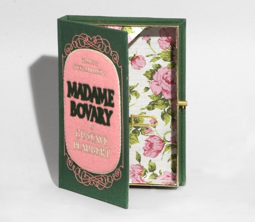 olympialetan:  Madame Bovary book-clutch by Olympia Le-Tan.