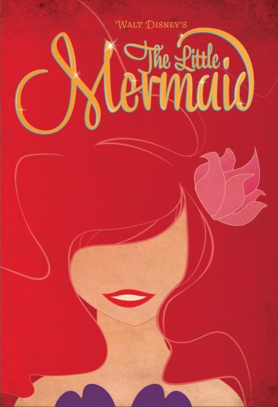 minimalmovieposters:  The Little Mermaid by afinefrenzy