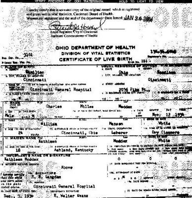 the-night-stalker:  Charles Manson's birth certificate.