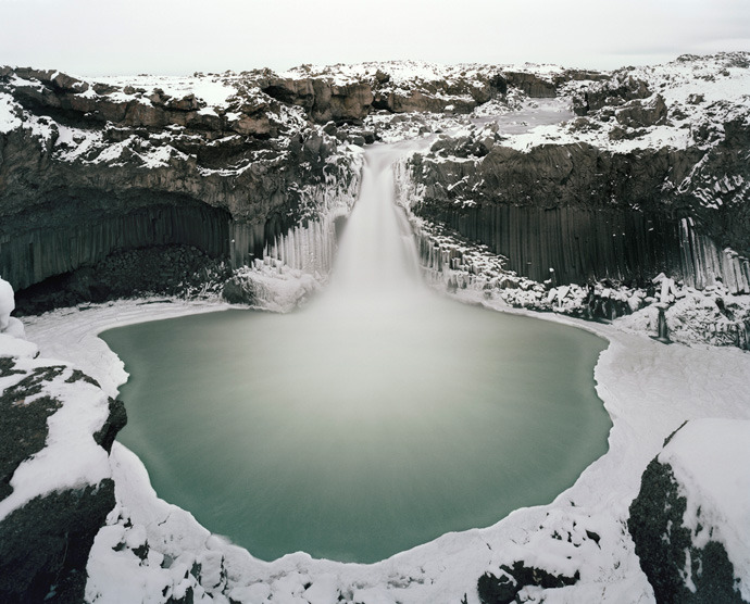 Aldeyjarfoss, Iceland by Michael Hall