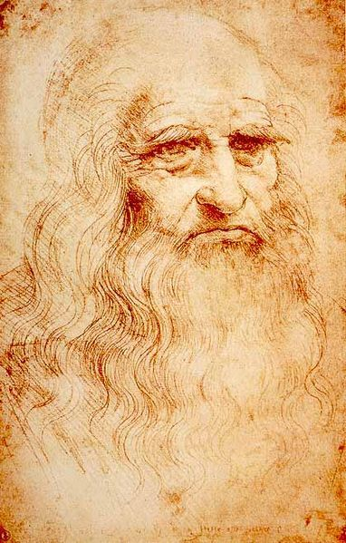 Leonard da Vinci. Serious Badass.  Oh he did this and this among other things…Born April 15, 1452.
