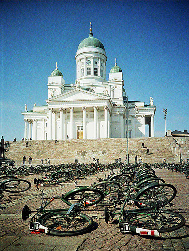 Senate Square, Helsinki, Finland (by Teppo)
