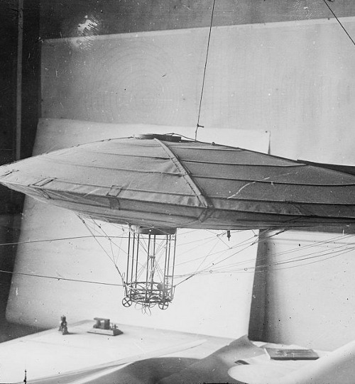 """Clement's model for flying machine"" (Library of Congress)"