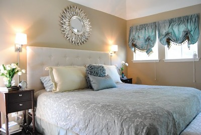 (via Amanda Carol at Home: Master Bedroom is DONE (well almost))