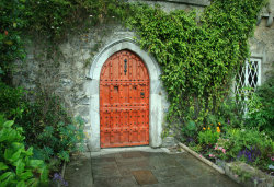 Malahide Castle Door - Picture taken by me in Ireland