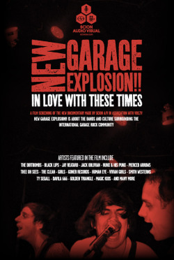 "Video & Film Screening // New Garage  Explosion. This film is a gem. It begins with the pinnacle rocker Jay  Retard and then zooms into San Francisco's own KUSF as Ty Segall leafs  through the radio station's record collection. Of course, the film is  conflicted, as it tries not to define something, that by its very nature  it inevitably does. Journalist Bobby Martinez calls it, ""Balls-out fun  rock 'n' roll."" The film strings together both a regional and a global  rock explosion and shows the best from both, like Davila 666, Clean,  Thee Oh Sees, and Girls. There's a free screening of New Garage Explosion at Embarcadero Center Cinema on 4/27 at 7 p.m. You can also watch the film below. -Michelle via VBS:"