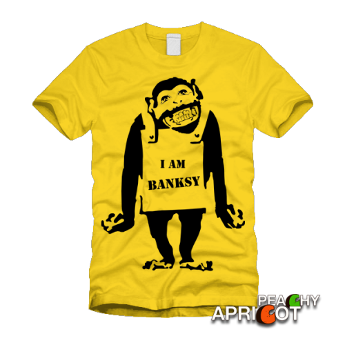 I am Banksy One of our own available here.