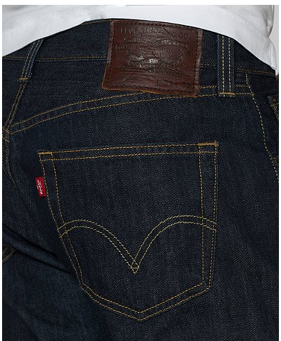 Levis jeans offer the most for the least.