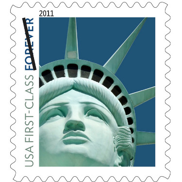 USPS Puts Wrong Statue Of Liberty On Stamp, Doesn't Really Give A F*&k You almost have to respect the USPS for screwing up this royally. First, they go and put the wrong Statue of Liberty on a postage stamp. Then, when told about it, they just shrug it off like a postal worker eating a sandwich at their closed window while a line of customers waits. (via The Consumerist)