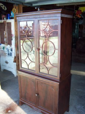 Love the door detail on this cabinet. $150