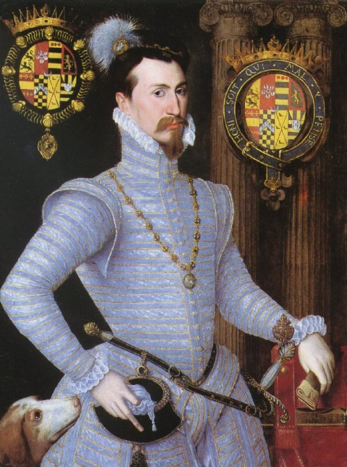 missfolly:  Robert Dudley, Earl of Leicester by an Unknown Artist, ca. 1564