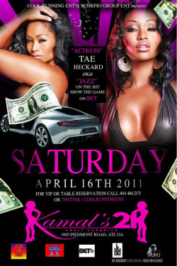 Come out to see @TaeHeckard on April 16th!