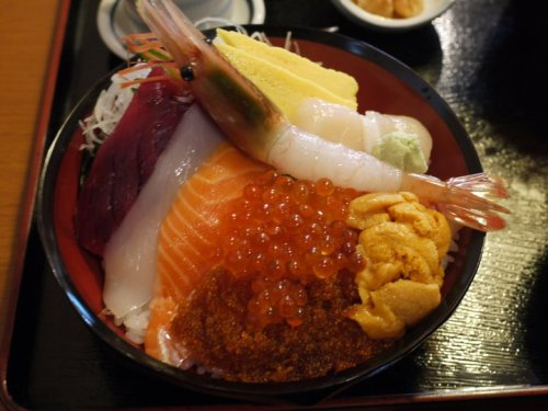 Colorful Food. A taste of Japan.