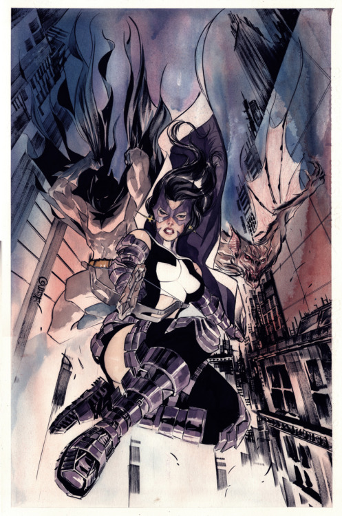 Just finished reading Streets of Gotham: Leviathan and damn I love me some Helena.