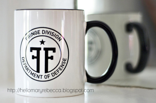 Tonight's the last night to enter to win a free Fringe Division Mug. Or, go here to buy one for $15. http://etsy.me/f0kquX (only 20 left!)