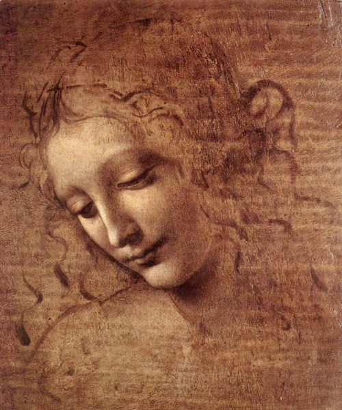 Portrait of a Woman by Leonardo da Vinci, 1508