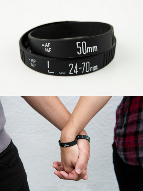 wickedclothes:  Follow wickedclothes for lovely camera lens bracelets and more!  I love those!