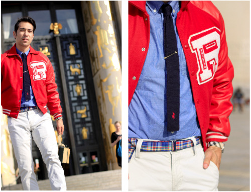 I want a varsity jacket, so bad.