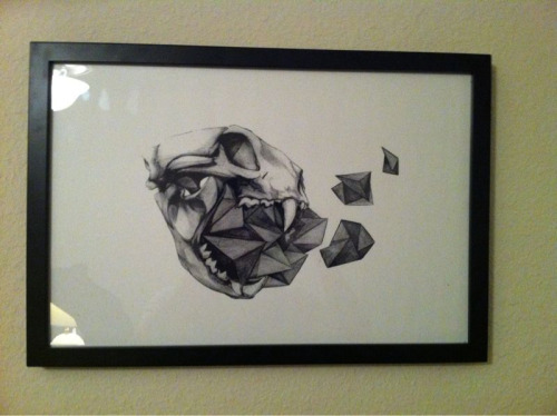 Finally got to hang my picture I bought from @TFail #LovinIt