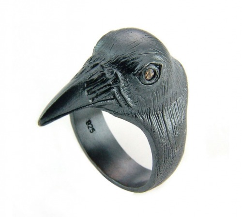 bird ring by Norwegian jewelry maker Bjørg http://www.bjorgshop.com/
