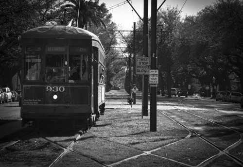 almaehernandez:  March 15 End of the line for a St. Charles streetcar.