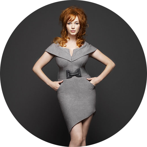 Christina Hendricks by Brian Bowen Smith