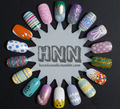 prettyproject:  sugarcoatednails:  Via heynicenails  So much cute!