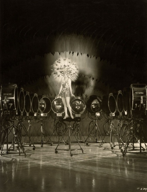 Alice White in publicity still for Show Girl in Hollywood (1930, dir. Mervyn LeRoy) Photographer: Bertram Longworth