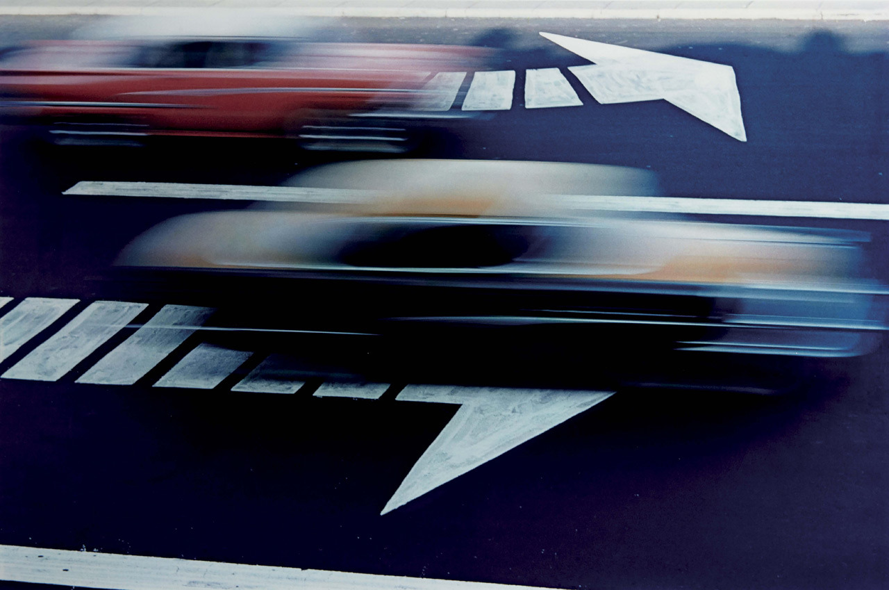 melisaki:  Traffic, NY photo by Ernst Haas, 1963