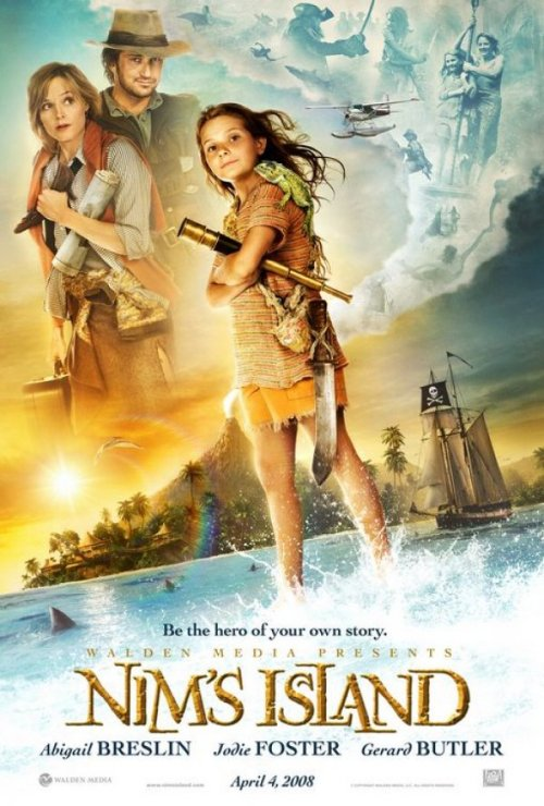 operationfailure:  83. Nim's Island (2008)