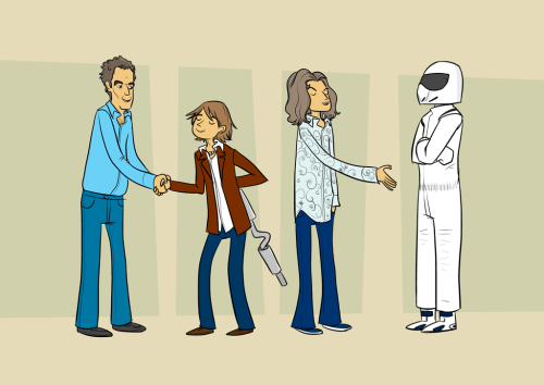 Top Gear. art by John Allison :: via flickr.com