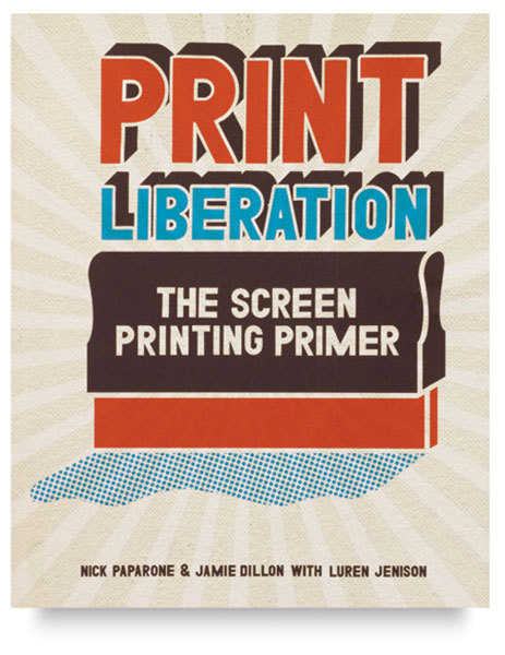 I love this little book - Print Liberation: The Screen Printing Primer. Everything I had in my head about screen printing I forgot and relearned it from this book. Easy to follow instructions and great tips for any level of experience.  Pick up a copy here on Amazon.