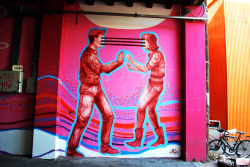 cartwheelgalaxy:  Street Art in Buenos Aires by Jaz (via)