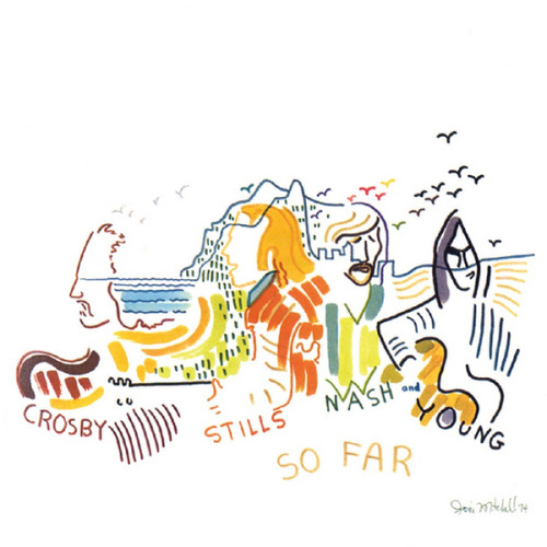 "Crosby, Stills, Nash & Young - ""So Far"" 1974"