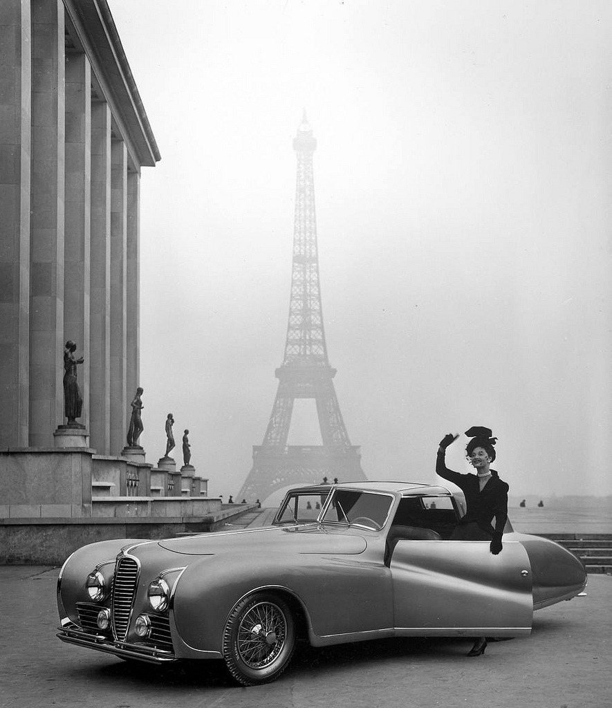 Paris, Delahaye, Photography by Nina Leen.